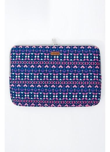 Hamur Easy Case 13 inç Laptop Çantası Notebook Kılıfı Tessera New Renkli